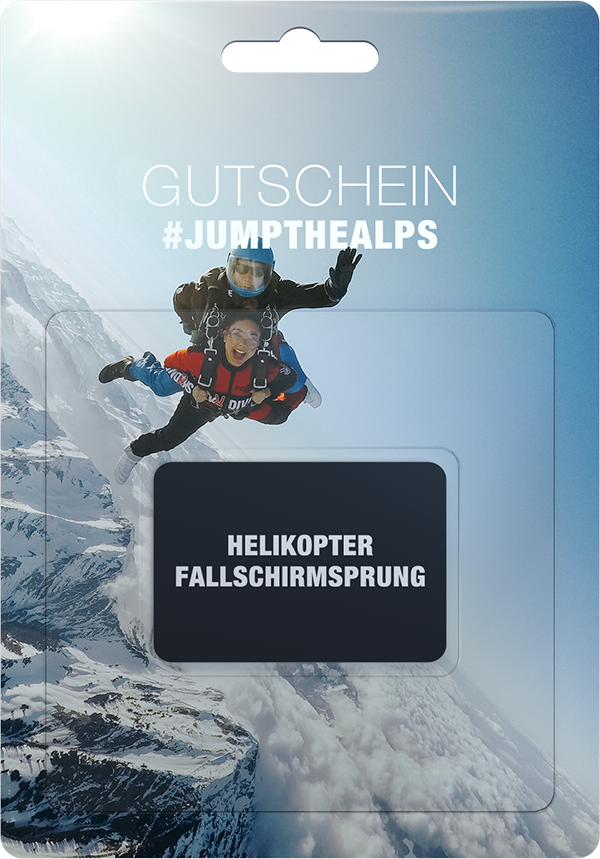 helikopter fallschirmsprung gutschein